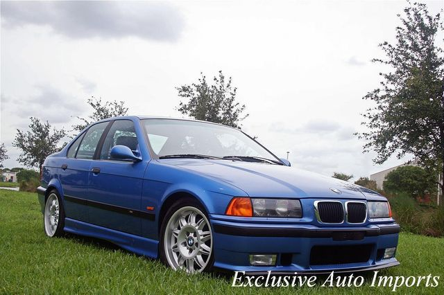 1997 BMW M3 1997 BMW M3 SEDAN ESTORIL BLUE 5SP This is THE ONE! 1-OWNER! - Click to see full-size photo viewer