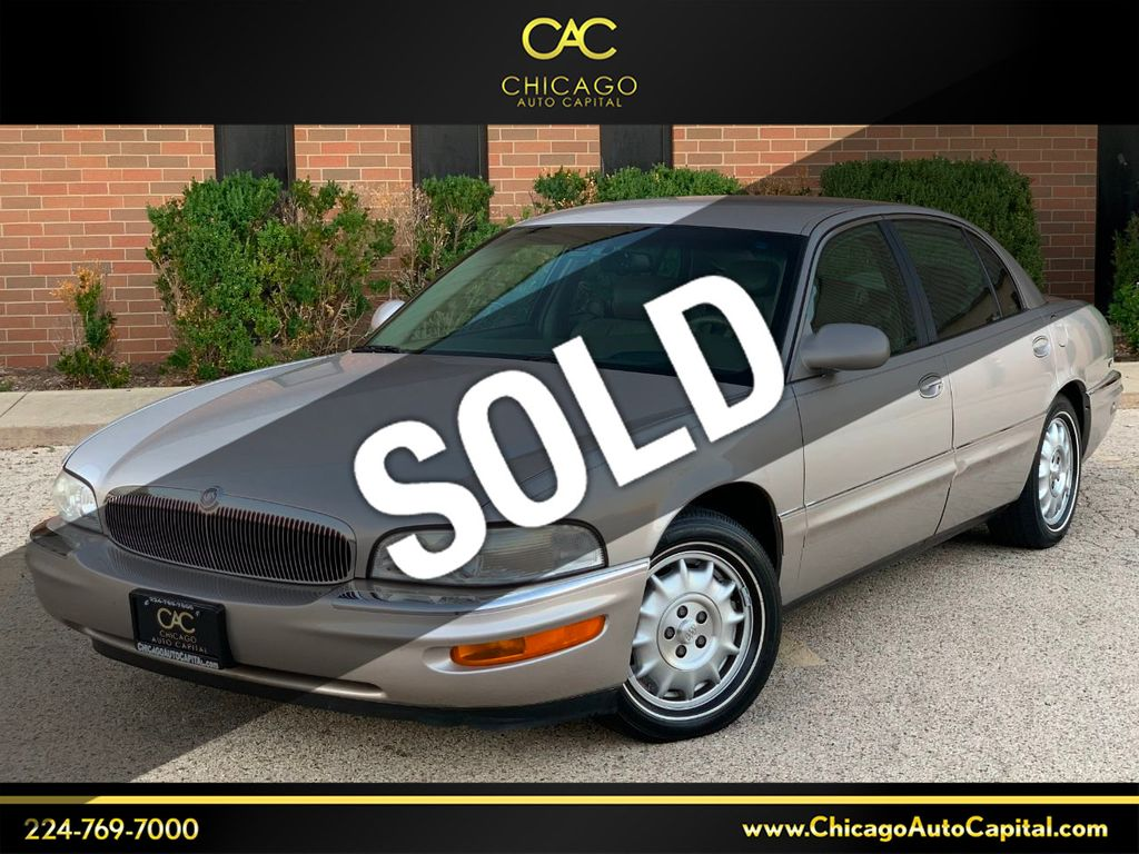 1997 Used Buick Park Avenue Ultra Supercharged At Chicago Auto Capital Serving Elgin Il Iid 20242132