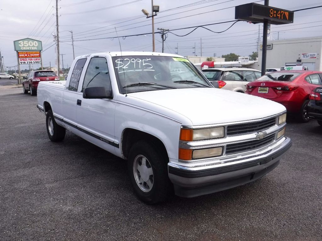 All Chevy 1997 chevrolet z71 : 1997 Used Chevrolet C/K 1500 Ext Cab 141.5