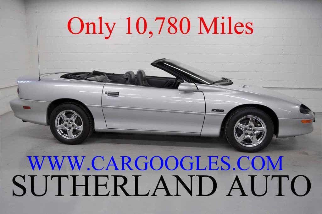 1997 Chevrolet Camaro 2dr Convertible Z28 - 11650218 - 19