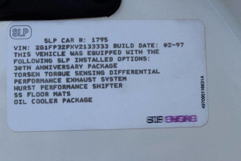 1997 Chevrolet Camaro 30th Anniversary Edition - 13695351 - 29