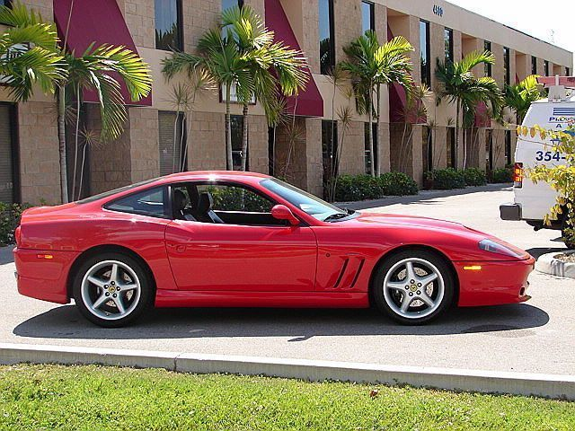 1997 Used Ferrari 550 Maranello Base Trim at Sports Car ...