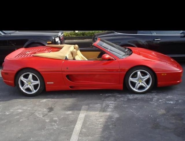 1997 Used Ferrari F355 Spider At Sports Car Company Inc