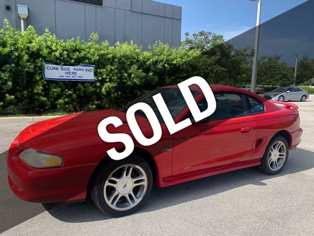 1997 Used Ford Mustang Gt Coupe At Miami Lauderdale Cars Serving Pompano Beach Fl Iid 20088787