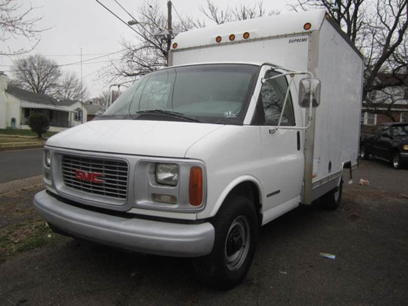1997 Gmc Savana 3500 Box Truck 14821338 1