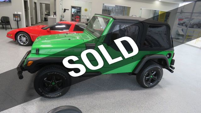 1997 Jeep Wrangler 1997 JEEP WRANGLER SE 2 DOOR 4 WHEEL DRIVE SUV for Sale  Bloomington, IL - $11,960 - Motorcar com