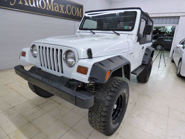 1997 Jeep Wrangler SE - Click to see full-size photo viewer