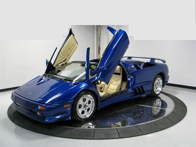 1997 Used Lamborghini Diablo Diablo Vt Roadster At Sports Car
