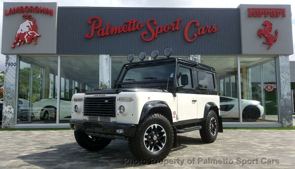 1997 Land Rover Defender 90 2dr Station Wagon Hard-Top - 17600041 - 0