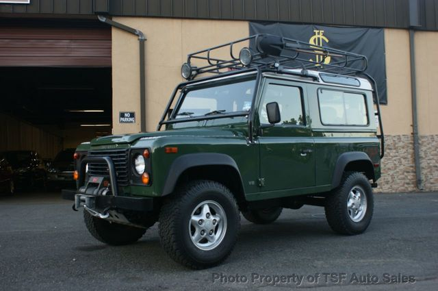 1997 land rover defender 90. 1997 land rover defender 90 2dr station wagon hardtop original paint prestine condition s