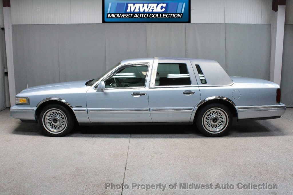 1997 Lincoln TOWN CAR EXECUTIVE EXECUTIVE MODEL LAST YEAR ONLY 52K MLS LEATHER LANDAU TOP - 18599820 - 0