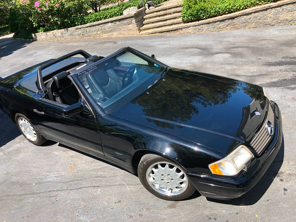 1997 used mercedes benz sl class sl320 2dr roadster 3 2l at webe autos serving long island ny. Black Bedroom Furniture Sets. Home Design Ideas