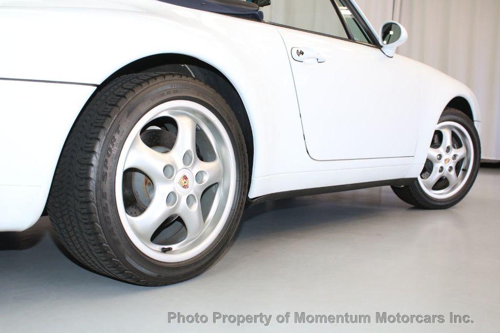 1997 porsche 911 carrera 2dr carrera cabriolet 6-speed manual - 18227477 -  48