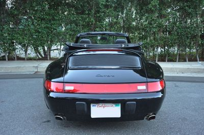 1997 Porsche 911 Carrera 2dr Carrera Cabriolet w/Tiptronic - Click to see full-size photo viewer