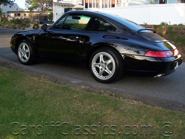 1997 Used Porsche 911 Carrera Targa at Cardiff Clics Serving ...