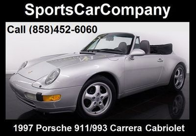 1997 Porsche 911/993 993 Cabriolet - Click to see full-size photo viewer