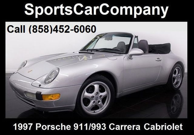 1997 Used Porsche 911993 993 Cabriolet At Sports Car