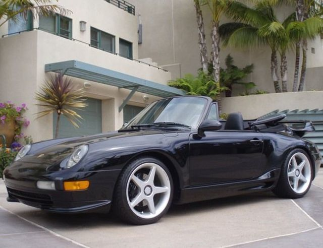 1997 Porsche 993 TURBO WIDE BODY