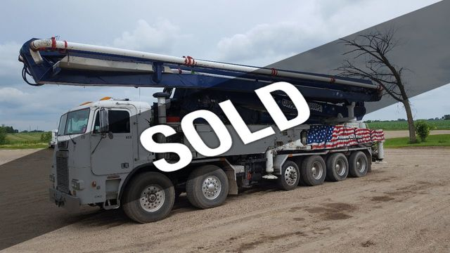 1997 Used Schwing 52m Freightliner at BuyConcreteEquipment com Serving  North America, TX, IID 17865705