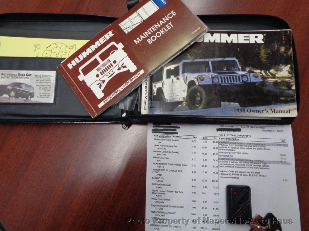 1998 AM General Hummer 4-Passenger Hard Top - 17783328 - 47