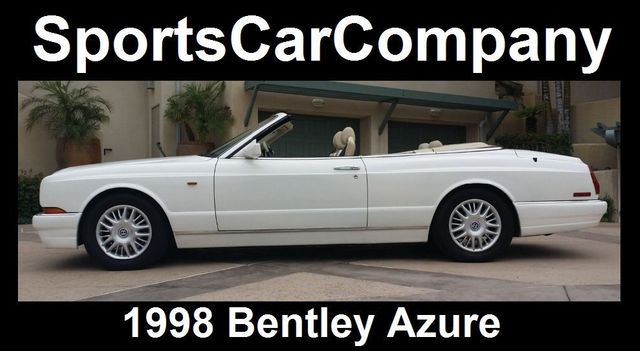 1998 Bentley Azure Luxury Convertible - 16595013 - 1