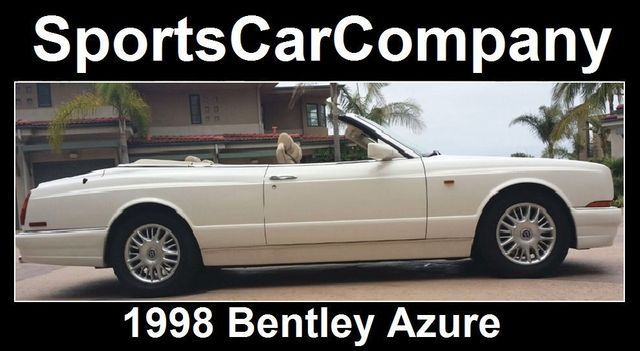 1998 Bentley Azure Luxury Convertible - 16595013 - 2