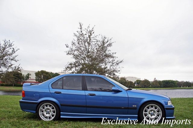 1998 BMW M3 1998 BMW M3 SEDAN ESTORIL BLUE ULTRA LOW MILES! RARE! UPGRADED! - Click to see full-size photo viewer