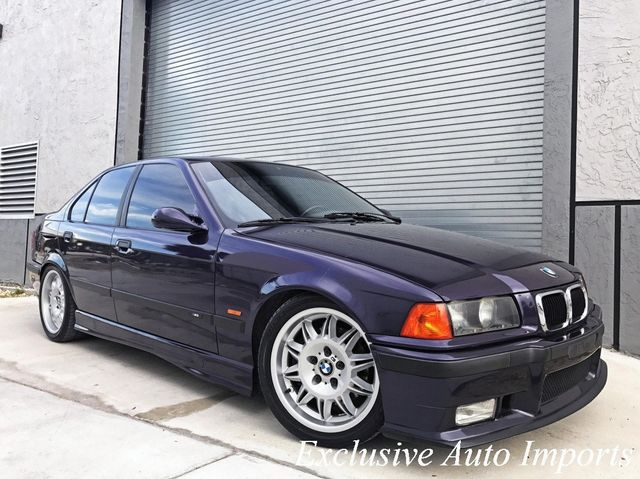 1998 BMW M3 E36 SEDAN TECHNO VIOLET 5-SPEED This is THE ONE! M3/4/5 - Click to see full-size photo viewer