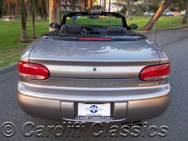 1998 Chrysler Sebring 2dr Convertible Jxi Click To See Full Size Photo Viewer