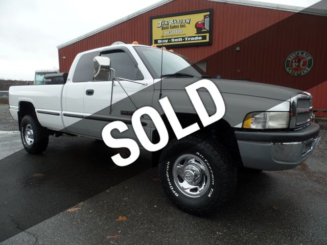 1998 Used Dodge Ram 2500 SLT Laramie Quad Cab Long Bed 4x4