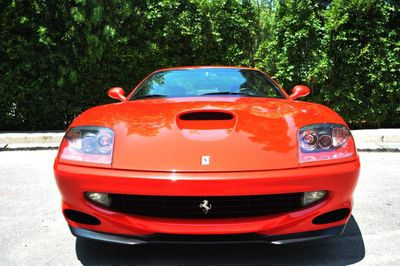 1998 Ferrari 550 Maranello  - Click to see full-size photo viewer