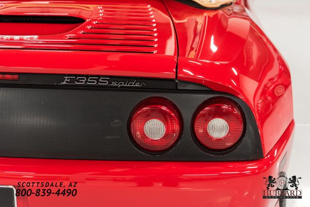 1998 Ferrari F355 Spider - Click to see full-size photo viewer