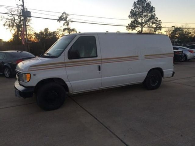 6dff3b3cfbb7e8 1998 Used Ford Econoline Cargo Van E-150 at Car Guys Serving Houston ...