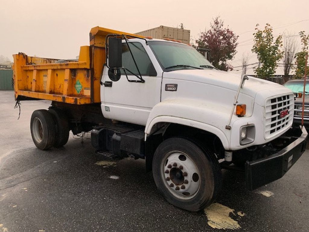1998 used gmc c6500 heavy duty dump truck diesel non cdl at more