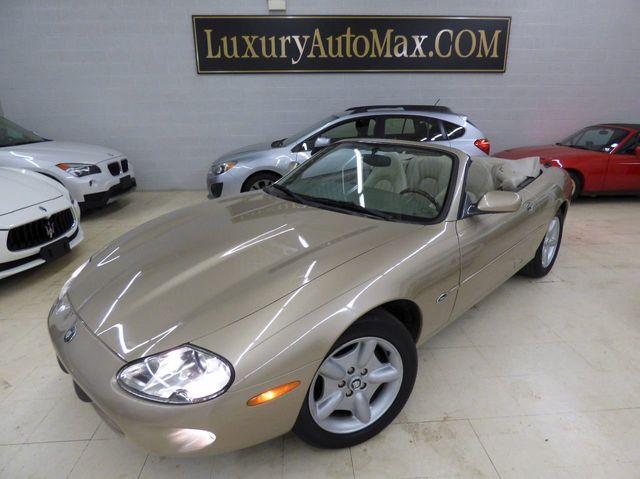 Captivating 1998 Jaguar XK8 2dr Convertible Convertible   SAJGX2247WC025427   1
