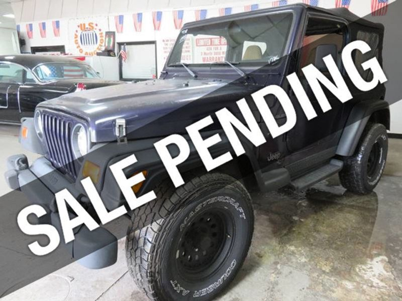 1998 Used Jeep Wrangler Auto 4 0l 6 Cyl At Contact Us