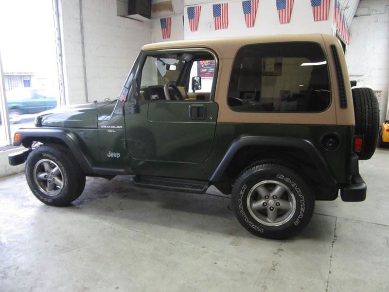 1998 used jeep wrangler sport / 4.0l at contact us serving cherry