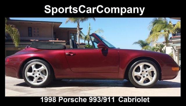 1998 Porsche 911/993 Cabriolet