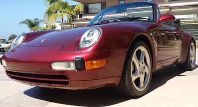1998 Porsche 911/993 Cabriolet  - Click to see full-size photo viewer