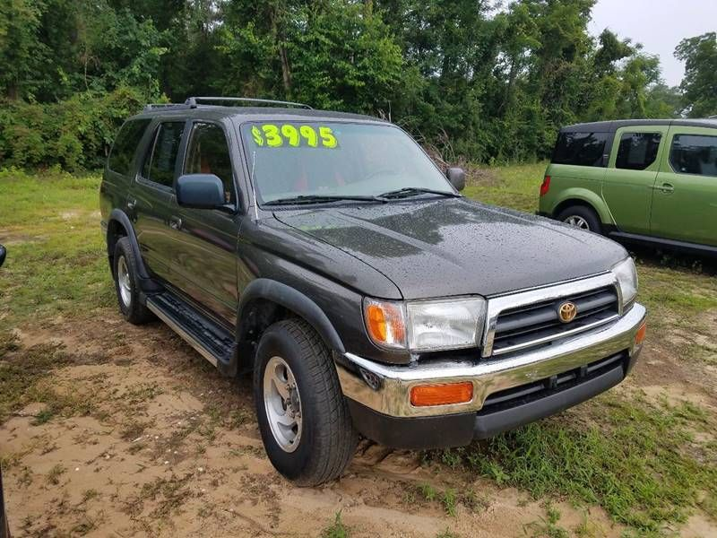 Toyota Myrtle Beach >> 1998 Toyota 4Runner SR5 4dr 4WD SUV SUV for Sale Florence ...