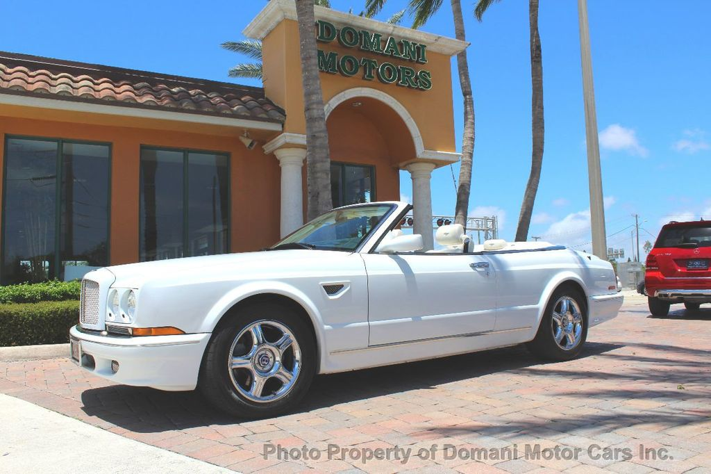 1999 Bentley Azure COMPLETE SERVICE JUST PERFORMED!! ONLY 16,180 miles!! - 17625191 - 18