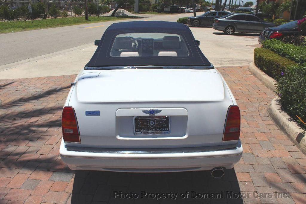 1999 Bentley Azure COMPLETE SERVICE JUST PERFORMED!! ONLY 16,180 miles!! - 17625191 - 7