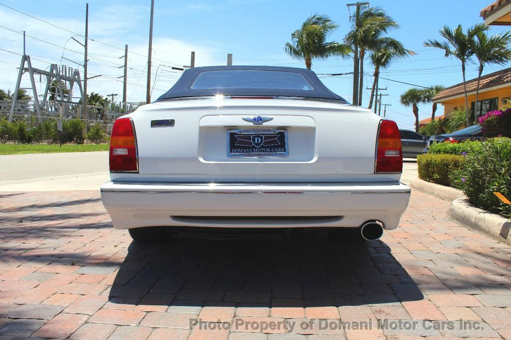 1999 Bentley Azure COMPLETE SERVICE JUST PERFORMED!! ONLY 16,180 miles!! - 17625191 - 8