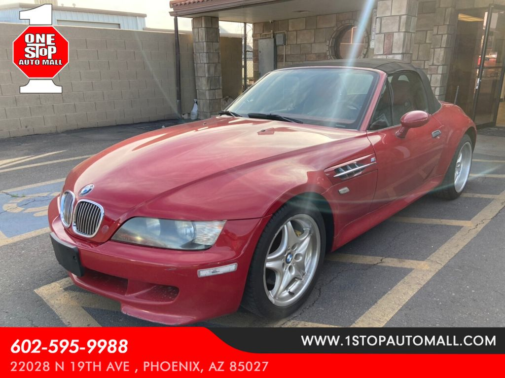 1999 Used BMW Z3 1999 BMW Z3 M Roadster at One Stop Auto Mall ...