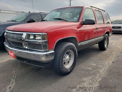 1999 Chevrolet Tahoe  - Click to see full-size photo viewer