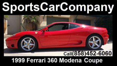 1999 Ferrari 360 Modena Base Trim - Click to see full-size photo viewer