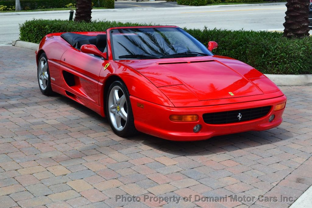 1999 used ferrari f355 f355 spider in excellent condition - 26k