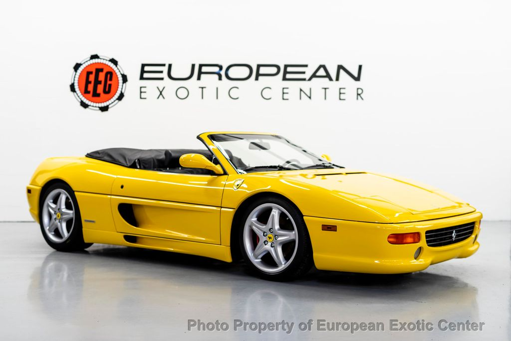 1999 Used Ferrari F355 Fiorano Edition Spider F1 At European Exotic Center Serving Clearwater Fl Iid 18302842