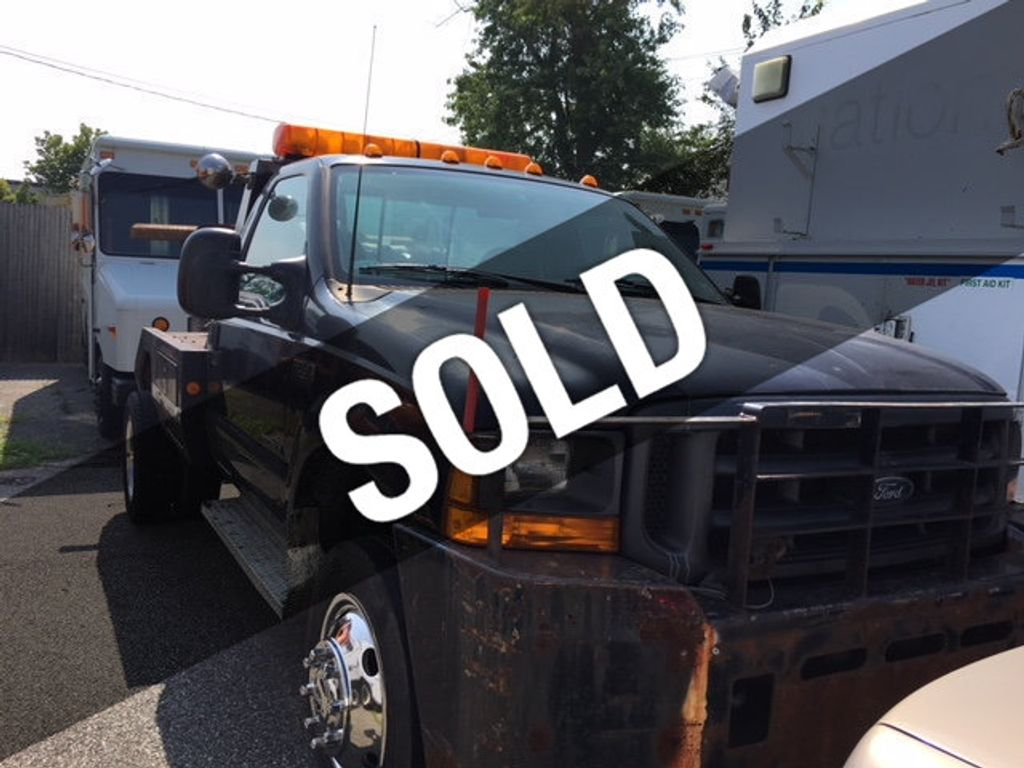 1999 Ford SUPER DUTY F-550 SELF LOADER TOW TRUCK 7.3 POWERSTROKE TURBO DIESEL    ***   LOW MILES   *** - 17537969 - 0