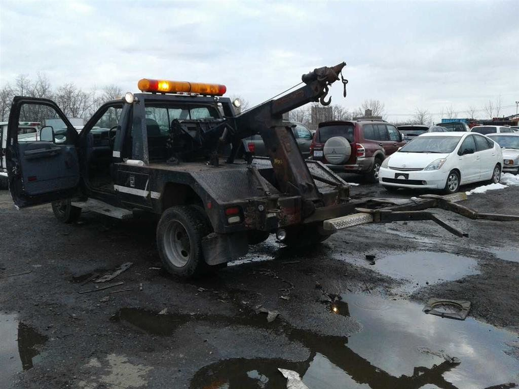 1999 Ford SUPER DUTY F-550 SELF LOADER TOW TRUCK 7.3 POWERSTROKE TURBO DIESEL    ***   LOW MILES   *** - 17537969 - 1